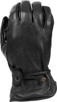 Leren handschoenen zwart-XL