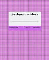 Graph Paper Notebook: graph paper 5 squares per inch: Math and Science Composition Notebook for Students