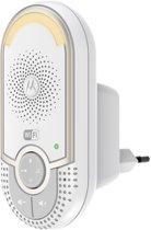 Motorola MBP-162 CONNECT WiFi baby audiomonitor | Hoor je kindje overal met je smartphone | Wit