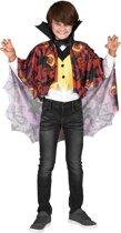 Halloween vampier kostuum voor jongens - Verkleedkleding - Maat 122/134