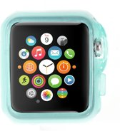 Apple Watch Sport 42mm Hoesje Lichtblauw (rubber/silicone)