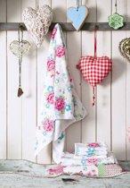Room Seven Funny Flower Handdoek - Roze - 60x110