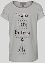 Creamie - meisjes t-shirt - Taylor - wit - Maat 116