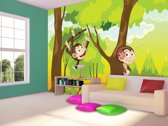 Green | Brown Photomural, wallcovering