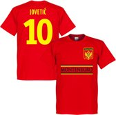 Montenegro Jovetic 10 Team T-Shirt - XXL