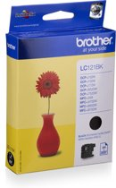 Brother LC-121BK - Inktcartridge / Zwart