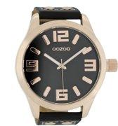 OOZOO Timepieces C1109 - Horloge - Zwart - 51 mm