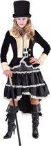 Steampunk Kostuum | Steampunk Blackpool Beauty | Vrouw | Small | Carnaval kostuum | Verkleedkleding