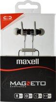 Maxell Magneet In-Ear met Flat kabel Grijs Zwart