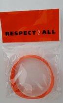 Armbandje Respect2All (setje van 5 stuks)