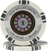 Pokerchip High Roller 11.5 Gram Grijs 1