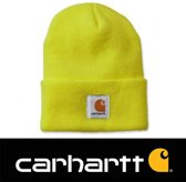 Carhartt Muts Acrylic Watch - Beanie - Unisex - Lime