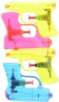 Johntoy Waterpistolenset Aqua Fun 4 Stuks 11 Cm