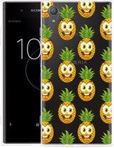 Sony Xperia XA1 Plus Hoesje Happy Ananas