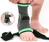 Enkel steunband bandage voor enkel brace met nylon strap steunkous / Large / HaverCo