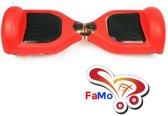 FaMo - Beschermhoes siliconen bescherming hoes Hoverboard ROOD - FaMo