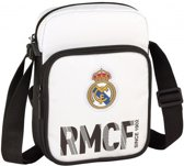 Real Madrid Schoudertas Wit
