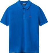 Napapijri Poloshirt - Maat L  - Mannen - blauw