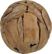HSM Collection Decoratieve bal medium - ø30 cm - teak