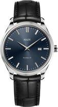 Maen MN1531.2.2.3 horloge heren - zwart - edelstaal