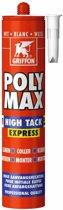 Griffon Poly Max High Tack Express montagekit Komo wit