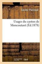 Usages Du Canton de Moncoutant