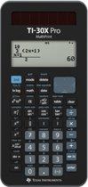 Texas Instruments TI-30X Pro calculator Pocket Wetenschappelijke rekenmachine Zwart