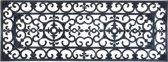 Rubberen deurmat rechthoekig 120 x 45 cm