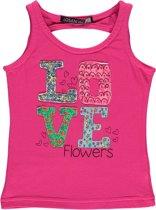 Losan meisjeskleding - T-shirt roze -Maat 92 - Z16-47