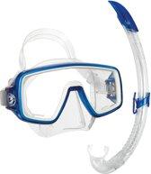 Aqua Lung Sport Planet LX + Ariflex LX - Snorkelset - Volwassenen - Blauw