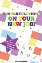 Congratulations on Your New Job Puzzle Book
