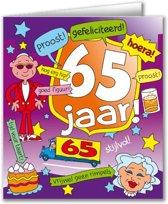 Paperdreams - Wenskaart - Cartoon - 65 Jaar