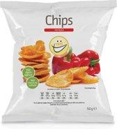EASIS Chips - Eiwitrijk & Weinig calorieën - 1 zakje (50 gram) - Paprika