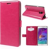 KDS Wallet case Samsung galaxy Note 3 neo roze