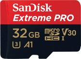 SanDisk MicroSDHC Extreme Pro 32GB 100mb / 90mb,U3,V30,A1