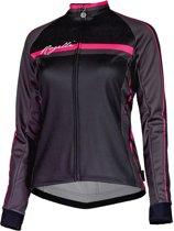 Rogelli KM Manica Shirt  Fietsshirt - Maat XL  - Vrouwen - zwart/roze