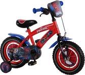 Ultimate Spider-Man  - Kinderfiets - 12 Inch - Jongens - Rood/Blauw