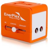 Enerplex Reisadapter Travel - oranje