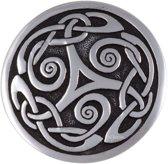 Broche Nouveau triscele, keltische broche