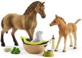 Schleich Paarden - Babydieren Verzorgingsset 42432