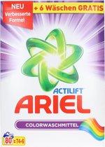 Ariel Actilift Waspoeder Colour 80 wasbeurten