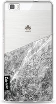 Casetastic Softcover Huawei P8 Lite - Marble Transparent