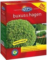 Viano tuinmeststof voor Buxus & hagen 1,5 kg + 250 g GRATIS  - set van 2 stuks