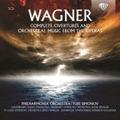 Wagner: Complete Overtures And Orch