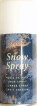 4 spuitbussen sneeuwspray van 150 ml