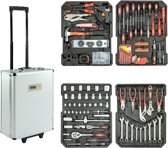 Maxx Tools Gereedschapskoffer 416delig - Gereedschapskoffer - all-in-one- Trolley