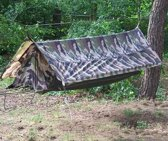 101 Inc Hangmat Jungle Frans - camouflage