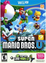 Nintendo New Super Mario Bros. U + New Super Luigi U Bundle, Wii U