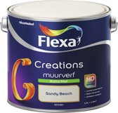Flexa Creations - Muurverf Extra Mat - Sandy Beach - 2,5 liter