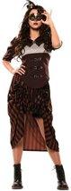 Steampunk vrouw (mt M/L)